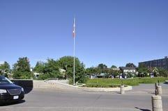 历史公园加拿大博物馆从渥太华的在加拿大 库存照片