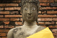 历史公园,大城府,泰国 免版税库存照片