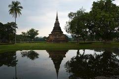历史公园sukhothai泰国 库存照片
