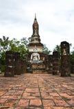 历史公园sukhothai 库存照片