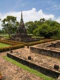 历史公园sukhothai 库存图片