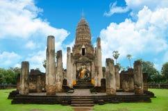 历史公园sukhothai 图库摄影
