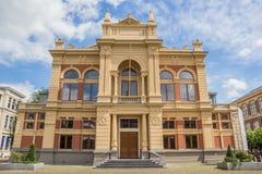 历史剧院大厦在格罗宁根的中心 免版税图库摄影