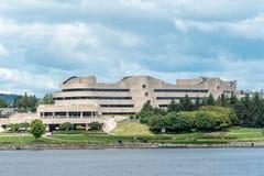 历史加拿大博物馆  库存图片