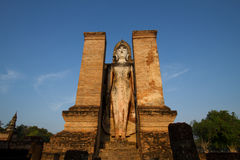 历史北部公园sukhothai泰国 库存图片