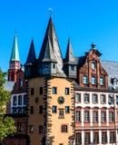 历史博物馆在法兰克福建立了1877-1878,德国 库存图片