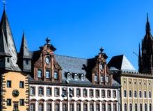 历史博物馆在法兰克福建立了1877-1878,德国 免版税库存图片