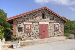 历史博物馆在Isla Culebra 免版税库存照片