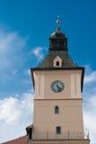 历史博物馆塔在布拉索夫,特兰西瓦尼亚,罗马尼亚 免版税库存图片