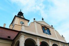 历史博物馆布拉索夫,罗马尼亚,欧洲 免版税库存图片