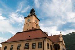 历史博物馆布拉索夫,罗马尼亚,欧洲 库存照片