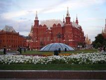 历史博物馆的看法从Manege广场的 库存照片
