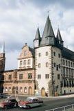 历史博物馆的葡萄酒1957年图象在法兰克福,德国 库存照片