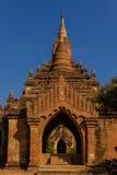 历史古庙,在缅甸(Burmar)的Bagan 库存照片