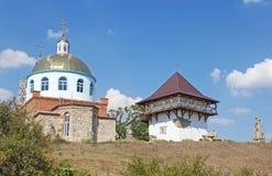 历史和开化储备Busha, Vinnitsa地区,乌克兰 图库摄影