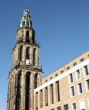 历史和新的大厦 免版税图库摄影
