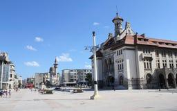 历史和考古学康斯坦察罗马尼亚博物馆  免版税库存照片