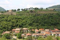 历史和自然在Veliko Tyrnovo 免版税库存照片