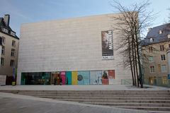 历史和艺术国家博物馆在卢森堡城市 图库摄影