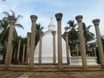 历史地方在斯里兰卡 免版税库存照片