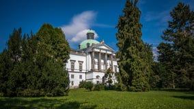 历史城堡, Topolcianky,斯洛伐克 库存图片