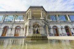 历史城堡-查普特佩克城堡 库存照片