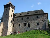历史城堡 库存照片