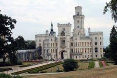 历史城堡 免版税库存图片