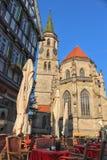 历史城市绍尔恩多尔夫,德国 库存图片