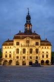 历史城镇厅在Luneburg 免版税库存照片