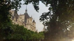 历史大厦在伦敦 免版税图库摄影