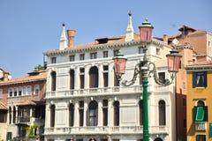 历史大厦在威尼斯,意大利 免版税库存图片