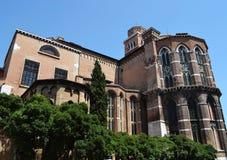 历史大厦在威尼斯 免版税库存图片