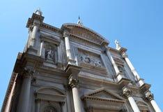 历史大厦在威尼斯 库存照片
