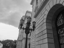 历史大厦在São保罗,巴西一个重要区域  免版税图库摄影