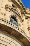 历史大厦窗口 免版税库存图片