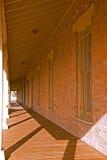 历史大厦走廊 免版税图库摄影