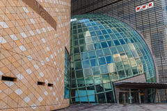 历史大阪博物馆  免版税库存图片