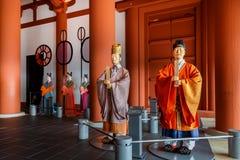 历史大阪博物馆  库存图片