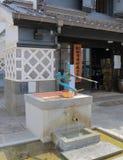 历史好的马塔莫罗斯市长野日本 免版税库存图片