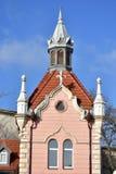 历史建筑在杰尔镇 免版税库存照片