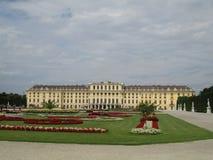 历史建筑在维也纳 库存照片