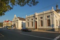 历史建筑在西部的Beaufort 库存照片