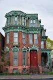 历史建筑在Cohoes, NY 免版税库存照片