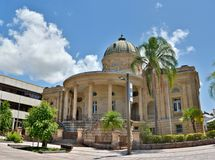 历史建筑在Rockhampton,澳大利亚 免版税库存图片