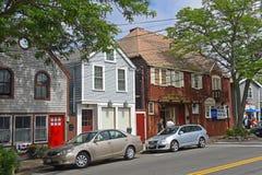 历史建筑在Rockport,马萨诸塞 免版税库存图片
