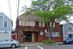 历史建筑在Rockport,马萨诸塞 免版税库存照片