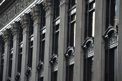 历史建筑门面,波特兰,俄勒冈 免版税库存图片