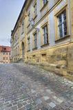 历史房子在琥珀,德国 图库摄影
