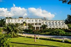 历史房子牙买加国王 库存图片
